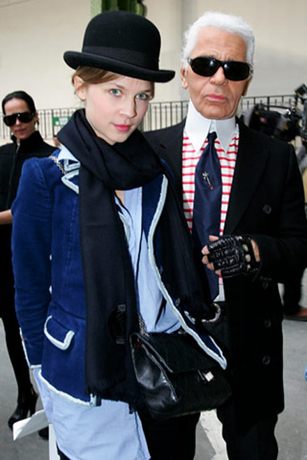 clemence-posey-lagerfeld