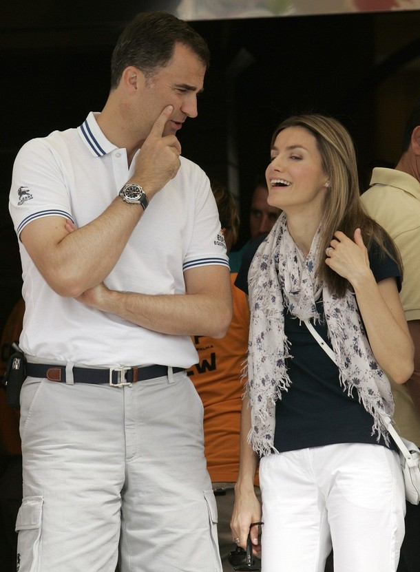 princess letizia wedding. Princess Letizia of Spain and