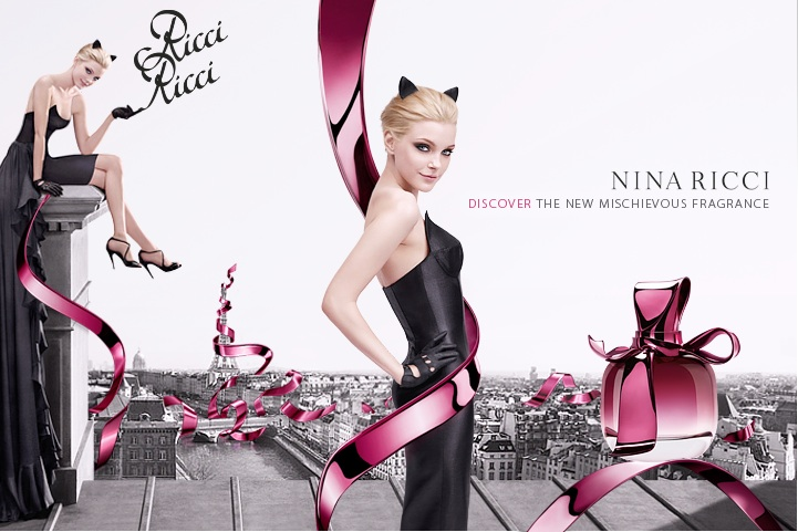 Nina Ricci Perfume Ads. 10 September 2009