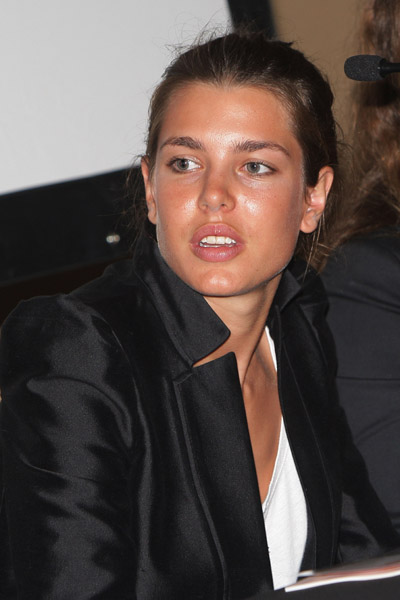 charlotte casiraghi vogue
